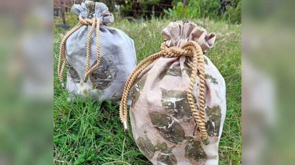 Pouch Ecoprint - Sabda Batik - Jombang, eMBe UMKM, Gerakan Warga GKJW