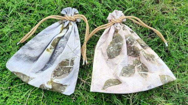 Pouch Ecoprint - Sabda Batik - Jombang, eMBe UMKM, GKJW