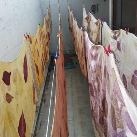 Sekilas Pembuatan Ecoprint - Sabda Batik - Jombang, eMBe UMKM, Gerakan Warga GKJW.org
