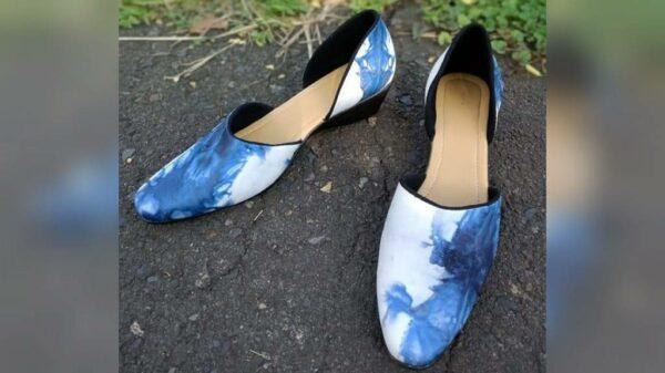Sepatu Kulit Pewarna Indigofera - Sabda Batik - Jombang, eMBe UMKM, GKJW.org