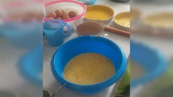 Sekilas Produksi Pie Susu / Lontar - Dapur Mama Kidung - Sengkaling Malang, eMBe UMKM, UMKM GKJW