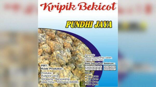 Kripik Bekicot Pundhi Jaya - Pesanggaran Banyuwangi, eMBe UMKM, Gerakan Warga GKJW