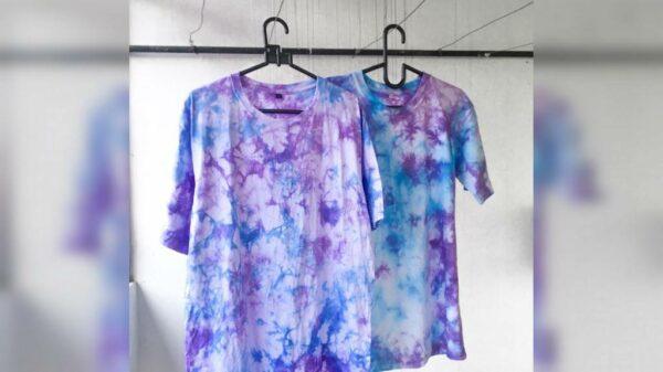 Proses Produksi Kaos Tie Dye, eMBe UMKM, Gerakan Warga GKJW
