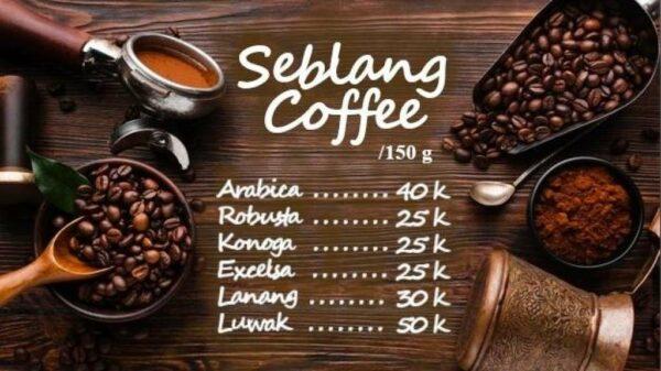 Seblang Coffee - Banyuwangi, eMBe UMKM, UMKM GKJW