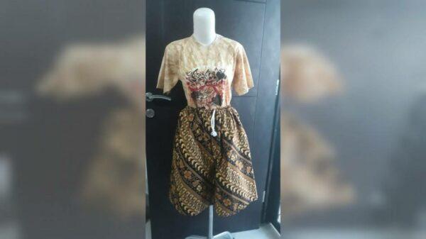 Celana Pendek Batik - Wates Mojokerto, eMBe UMKM, UMKM GKJW