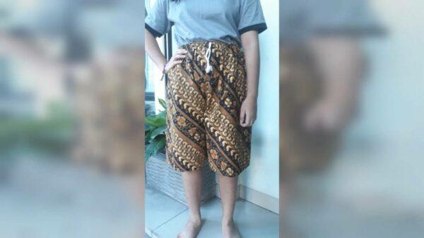 Celana Pendek Batik - Wates Mojokerto, eMBe UMKM, Gerakan Warga GKJW
