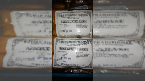 Sari Kunyit Asam - Minuman Sehat Tradisional Pandaan, eMBe UMKM, UMKM GKJW