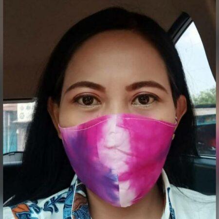 Shibori Art Mask - Jombang, eMBe UMKM, UMKM GKJW.org