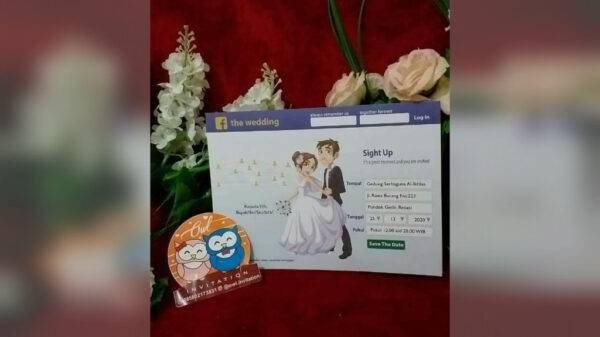 Undangan Pernikahan - Sentosa Fotocopy Tegowangi Padangan, eMBe UMKM, GKJW