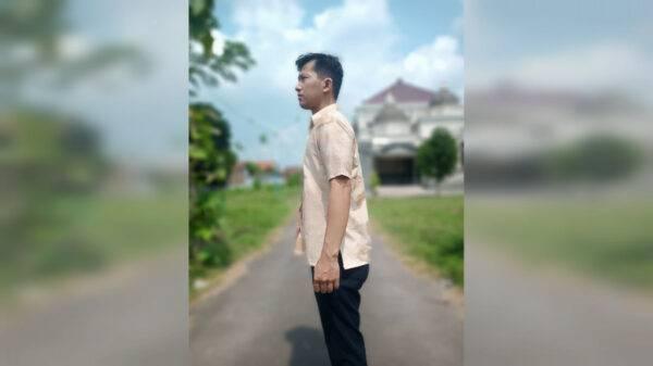 Hem Pria Ecoprint - Sabda Batik - Jombang, eMBe UMKM, UMKM GKJW.org