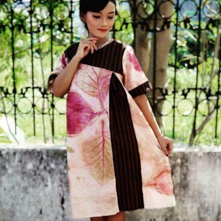 Koleksi Busana Ecoprint Wanita - Sabda Batik - Jombang, eMBe UMKM, Gerakan Warga GKJW