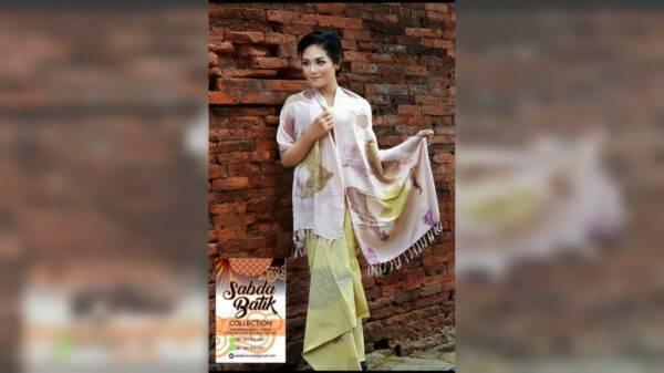 Koleksi Syal - Sabda Batik - Jombang, eMBe UMKM, Gerakan Warga GKJW