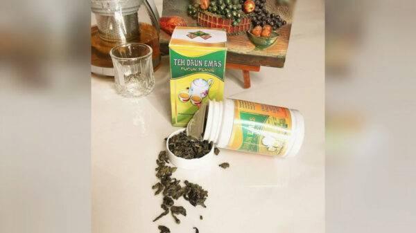 Teh Daun Emas (Premium Green Tea) - Omah Teh Klangenan Ketanggung, eMBe UMKM, UMKM GKJW.org