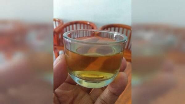 Teh Daun Emas (Premium Green Tea) - Omah Teh Klangenan Ketanggung, eMBe UMKM, GKJW.org