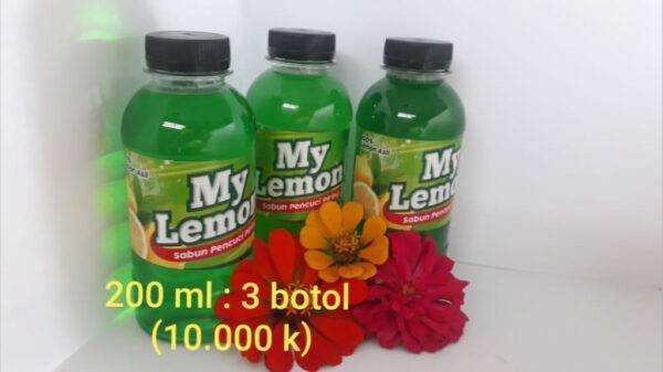 Sabun Pencuci Piring My Lemon - Bongsorejo Jombang, eMBe UMKM, Gerakan Warga GKJW